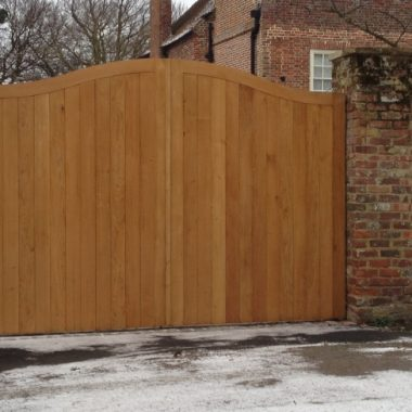 Elmstone Oak Gates