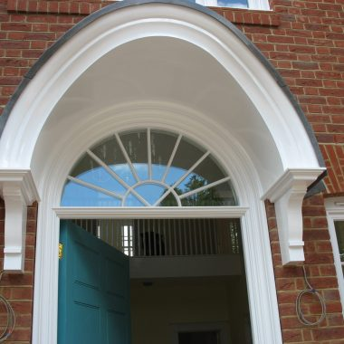 Front door with portice canopy 1