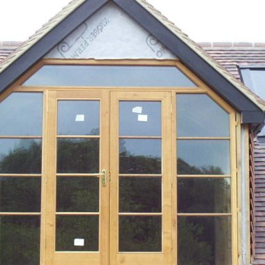 Gablet French Doors & Sidelights