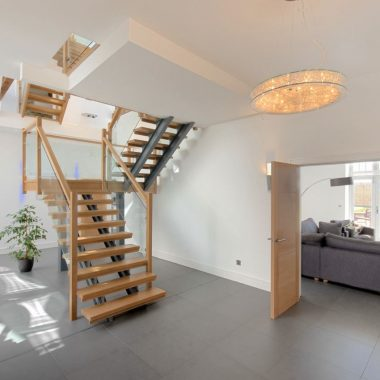 Modern Barn Conversion Stairs