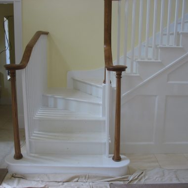 Cut String Winder Staircase