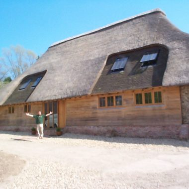 Oak joinery to a barn conversion