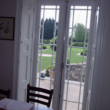 Traditional French Doors shutters