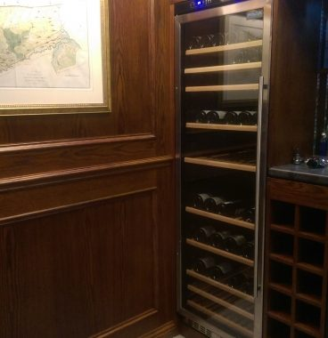 Wine Room & Bar Area For a Local Client