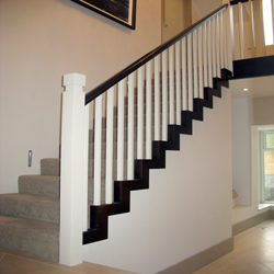 Modern Style Cut String Staircase